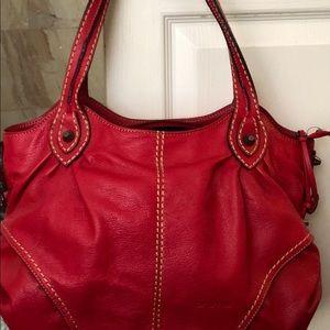Handbags - Red leather Cromia Bag
